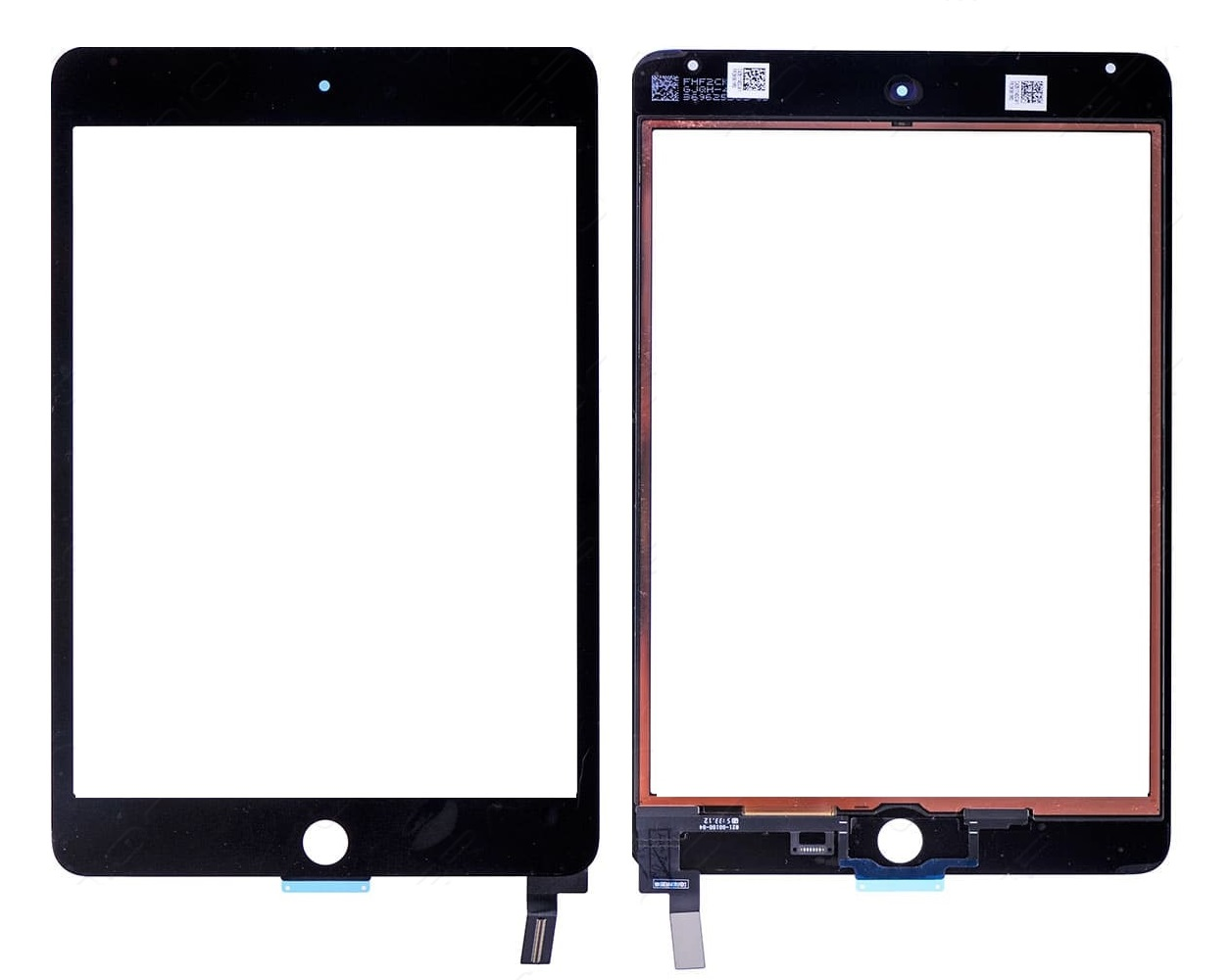 iPad mini 4 touchscreen black